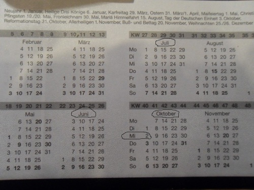 Kalenderverdreher
