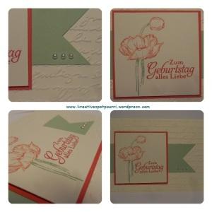 Geburtstagskarte Claudi